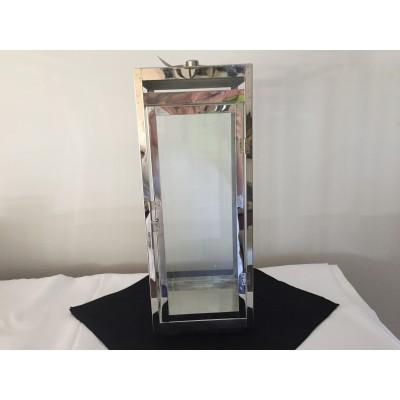 Corbeille nuptiale en vitre et métal