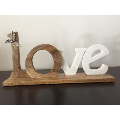 Love en bois